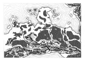 Seelenfänger-Karte, ohne Beschriftungen